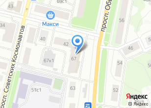 Компания «Чёрный кот» на карте