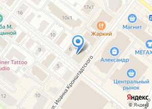 Компания «Фианит» на карте