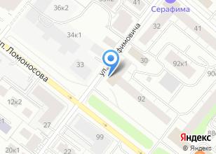 Компания «Архангельское агентство экспертиз» на карте