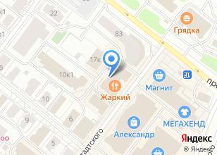 Компания «Гестия» на карте