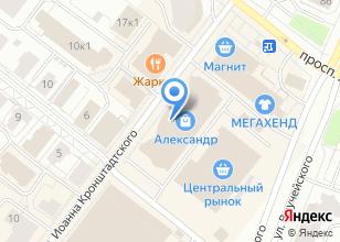 Компания «Конфетти» на карте