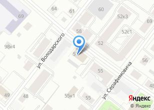 Компания «29roz.ru» на карте