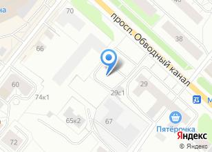 Компания «КанцСити» на карте