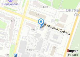 Компания «ВВТ-Архангельск» на карте