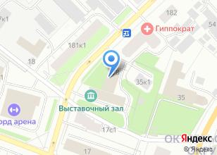 Компания «Интер-Росс» на карте