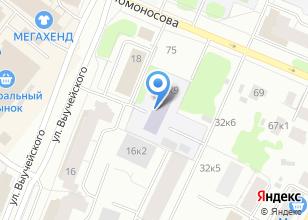 Компания «Да Винчи» на карте