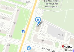Компания «Сибтур-Вояж» на карте