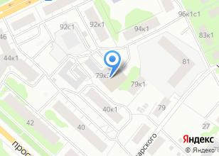 Компания «Мир цветов сеть цветочных салонов» на карте