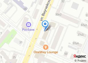 Компания «Строящееся административное здание по ул. Выучейского» на карте