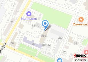 Компания «Прайд» на карте
