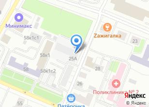 Компания «Комиссионный магазин на Северодвинской» на карте