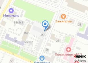 Компания «СервисСтрой» на карте