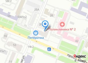 Компания «Строящийся жилой дом по ул. Северодвинская» на карте