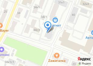Компания «Строящееся административное здание по ул. Северодвинская» на карте