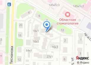Компания «Астрон-М» на карте