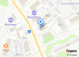 Компания «Теплоучет» на карте