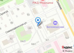 Компания «Беломорстрой» на карте