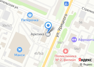 Компания «Сантехническая служба» на карте