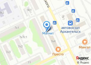 Компания «Северина» на карте