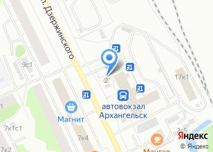 Компания «АРТПАКЕТ» на карте
