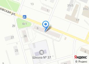 Компания «Индиго» на карте