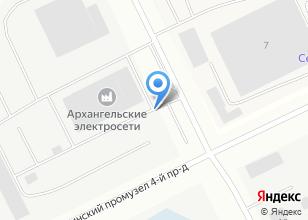 Компания «Архэнерго» на карте