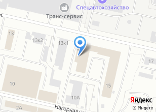 Компания «СК-Сервис» на карте