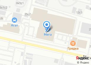 Компания «МЕГА» на карте