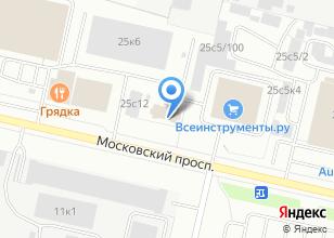 Компания «5 минут» на карте