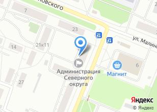 Компания «Комиссионный магазин детских товаров» на карте