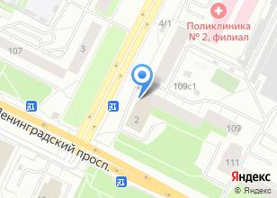 Компания «Хозторг» на карте
