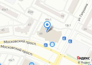 Компания «Строящееся административное здание по ул. Московский проспект» на карте