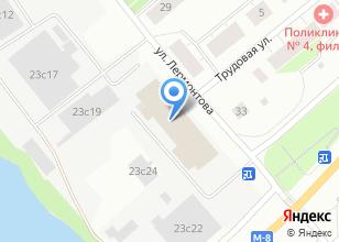 Компания «АрхСтройЛес» на карте