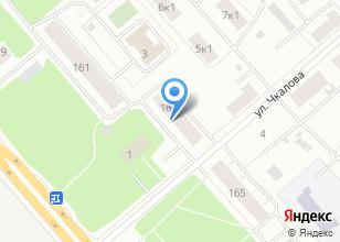Компания «Лесозавод №3» на карте