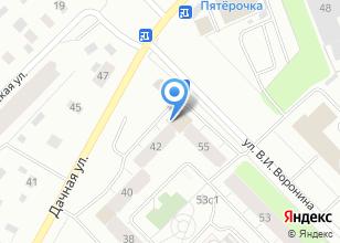 Компания «Кардс» на карте