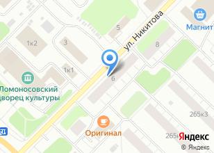 Компания «Александрит» на карте