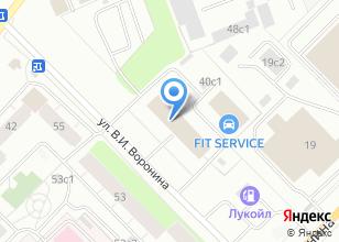 Компания «Автотранс» на карте