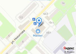 Компания «Конэкт» на карте