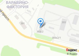 Компания «Техноплюс» на карте