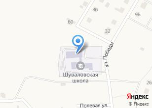 Компания «Шуваловская средняя школа» на карте