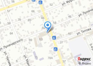 Компания «Сантехника» на карте