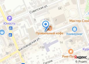 Компания «Flow» на карте