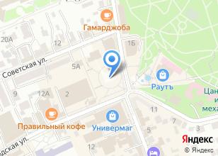 Компания «Юнибрайт» на карте