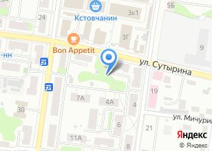 Компания «Сантехлюкс» на карте