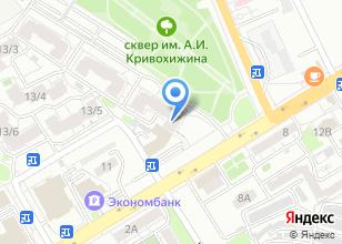 Компания «Дата-К» на карте