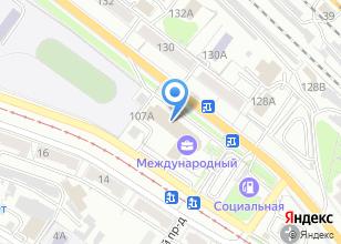 Компания «Центр Комплексных Услуг СИВЕРС» на карте