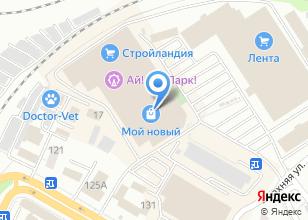 Компания «Ключи-замки» на карте