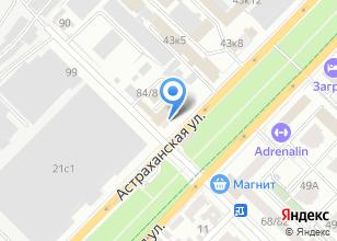 Компания «Эргономика» на карте