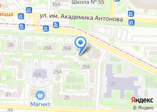 Компания «ИКСО» на карте
