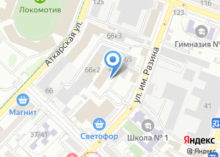 Компания «Восток Авто-Сервис» на карте
